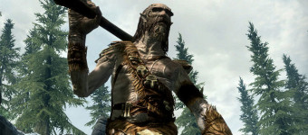 First In-Game Elder Scrolls V: Skyrim Trailer