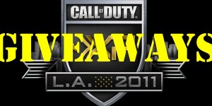 Call of Duty XP 2011 – Let the Giveaways… BEGIN!