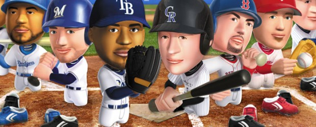 As the baseball postseason heats up, Konami has released their newest arcade hardball diversion MLB: Bobblehead Battle.  A spin-off of the earlier MLB: Bobblehead Pros title, Battle strips the sport...