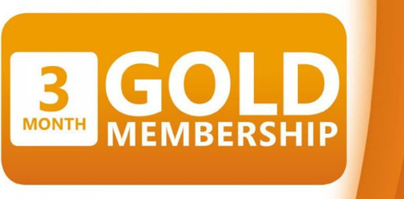 Three Free Months of Xbox Live Gold