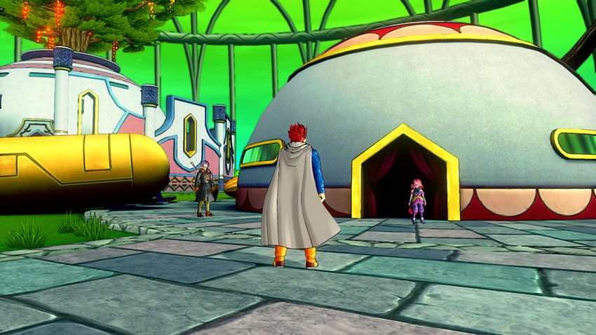 The hub area for Xenoverse is both a curse and blessing.