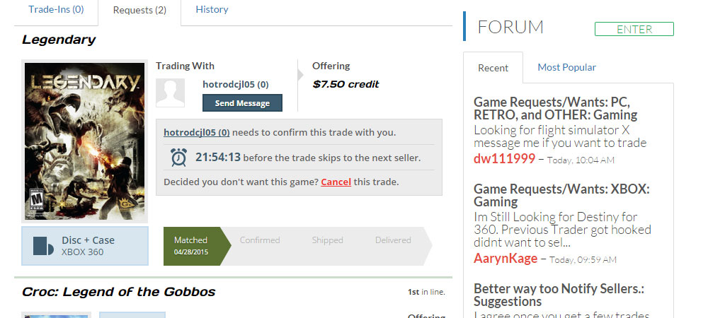 Tracking my trades is easy and effective.