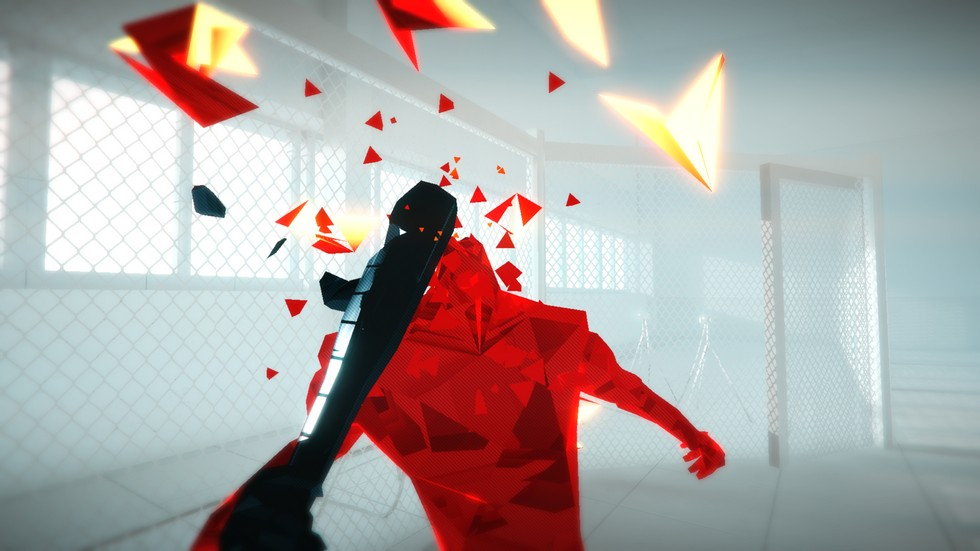 The story in SUPERHOT is a bit unconventional so don't lose your head.