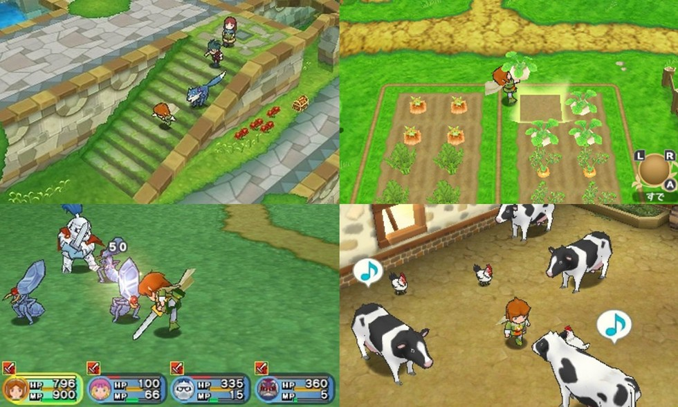 Story of Seasons is a hybrid of the Harvest Moon and PopoloCrois series.