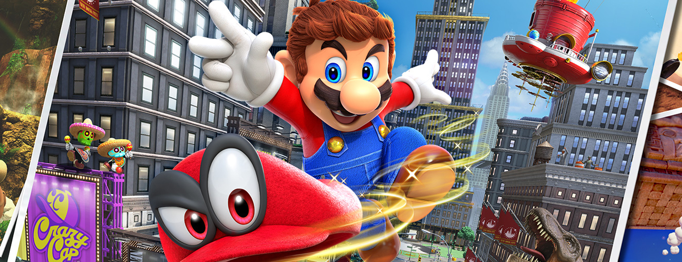 Super Mario Odyssey Switch Review Ztgd